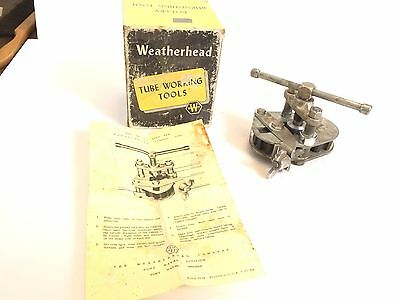 Weatherhead Rotary Burnishing Tool Flaring Tool 945-f All In One Unit Heavy Duty