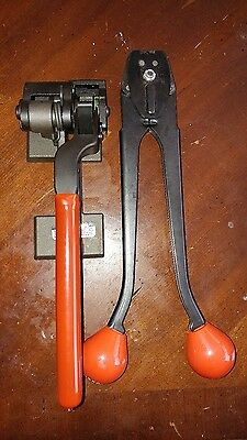 Signode c-1223 strapping tool and MIP 1200 tension tool
