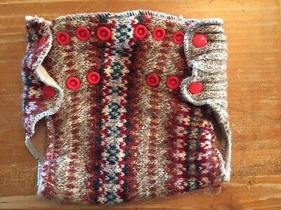 Righteous Recycles Wool Diaper Snap Cover