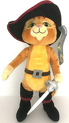 "DreamsWorks- Puss in Boots 17 Inches Large Size Plush Toy From ""Shrek Movie"""