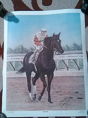 RUFFIAN by DAVE SCARBORO LIMITED EDITION PRINT ARTIST SIGNED NUMBERED