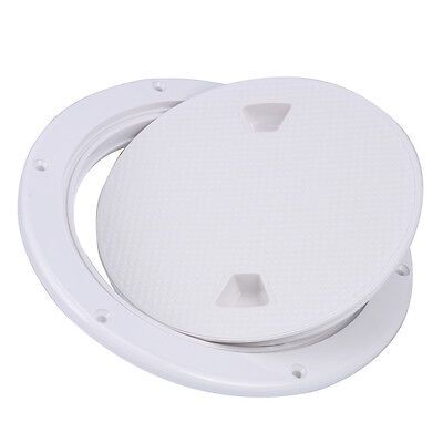 "8"" Boat Round Non Slip Inspection Hatch Detachable Cover 250mm Amarine-made"