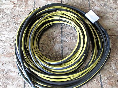"Gates Hydraulic Jack Hose 1/4"" 4J2At 10,000 Psi Two Wire Braid Hose 100 Feet"