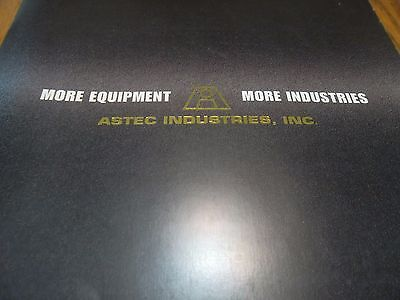 More Equipment, More Industries; ASTEC Industries, Inc. Corporate Overview