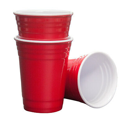 Mehrweg Melamin 16 Oz Red Party Cups - ultra starke rote amerikanische Beer Pong