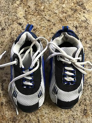 SMART FIT  Toddler/Boys   Gray/White/Navy  Sneakers   Size 6 Medium