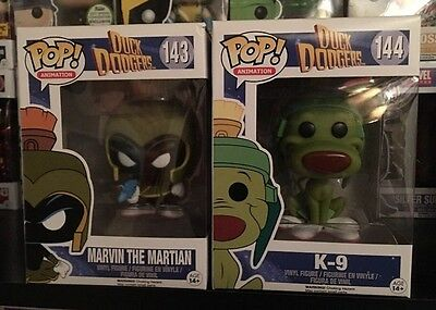 Funko Pop Duck Dodgers Marvin The Martian And K-9