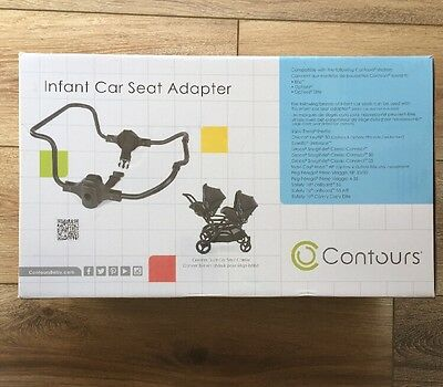 Contours Stroller Universal Infant Car Seat Adapter for Single and Double New