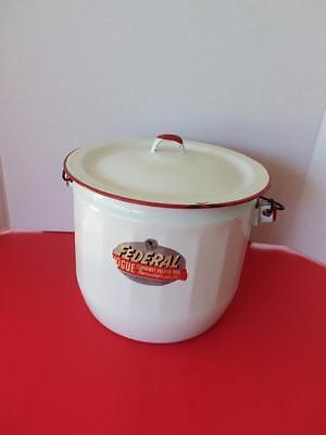 Vintage 1950's Federal Vogue Combinet Diaper Pail