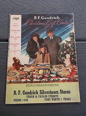 Vintage 1940's Bf Goodrich Department Store Christmas Xmas Catalog War Time