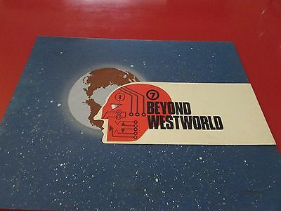 1982 'Beyond Westworld' Original Channel 7 Adelaide Station Promo