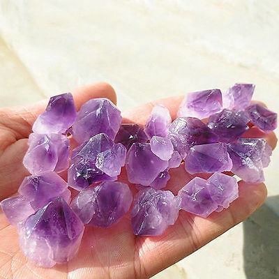 Purple Natural Amethyst Skeletal Quartz Point Crystal Cluster Healing Specimenme