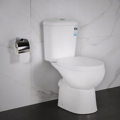 Wash Down Toilet Suite Wall Faced Dual Flush Ceramic S-trap or P-trap 009