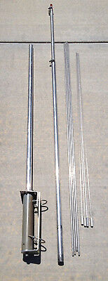 Antenna Specialists ASPA-2010 30-40 MHz Adjustable Base Antenna Low Band