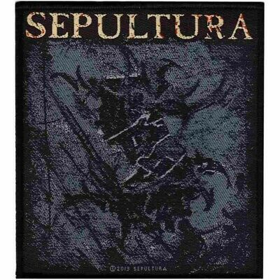 Sepultura The Mediator Tribal S Patch Woven Sew On Official Metal Band Merch New