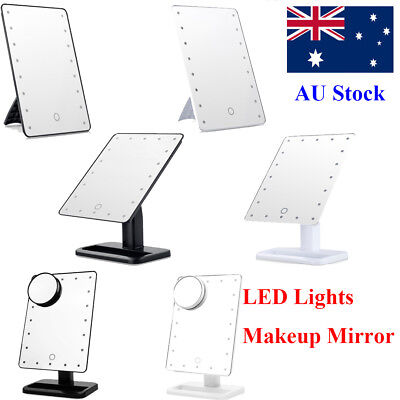 Hollywood Makeup Mirror w/ LED Lights Touch Screen Vanity Lighted Beauty Mirror