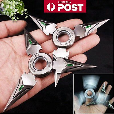 Tri Figet Hand Spinner Finger Triangle Metal Alloy EDC Focus Autism ADHD Toy AUS