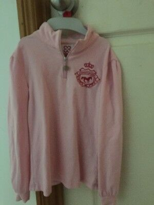 Giddyup Girl Size 6 Long Sleeve Riding Shirt