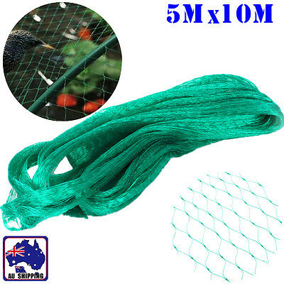 5x10m Anti Bird Netting Plant Net Fruit Tree Mesh Garden Orchard OFIN65510