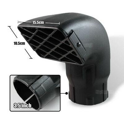 3.5 inch 85mm Snorkel Air Ram Head for Safari Airflow Replacement Removable Kit