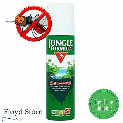 Jungle Formula Aerosol Insect Repellent Maximum Protection From Mosquito 150ml