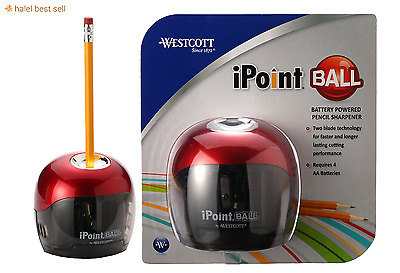Pencil Sharpener Automatic Electric Touch Battery Personal Home Office School .~
