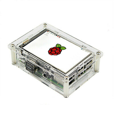 "3.5"" HDMI LCD Display 1920x1080 Screen w/ Clear Case & Heatsink for Raspberry Pi"