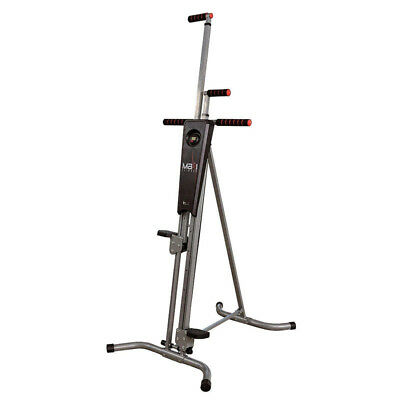Gym Exercise Climbing Stepper Maxi Climber Machine Cardio Fitness Workout System