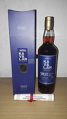 Kavalan Solist Vinho Barrique, Single Malt Whisky, 0,7L, 57,1% Vol