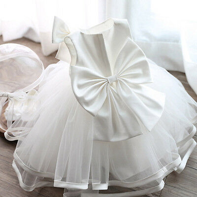Angelina Baby Flower Girl Formal Dress Christening Baptism Wedding Party Gown