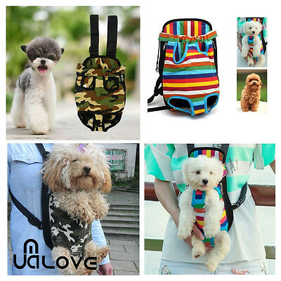 S-M Pet Cat Dog Puppy Front Carrier Bag Travel Tote Shoulder Bag Sling Backpack