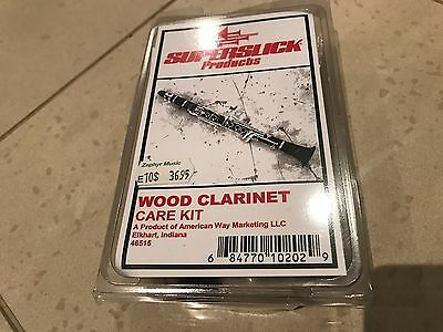 Superslick Wood Clarinet Care Kit - Unused