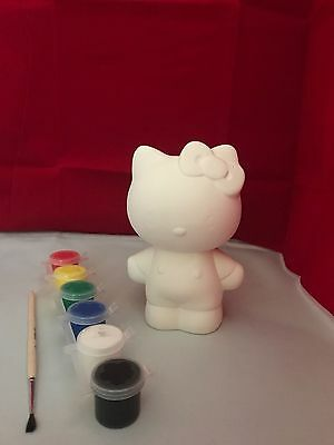 Hello Kitty Money Bank Paint your own pottery