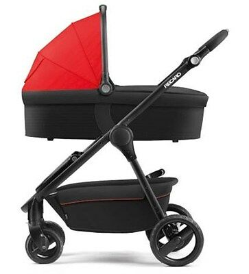 Recaro Citylife Baby's Carrycot Including Adapters - Ruby
