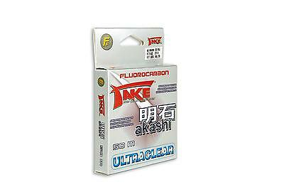 Take Akashi Fluorocarbon Ultraclear 50m 0,25mm