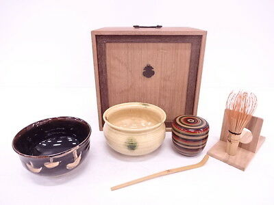 2844198: Japanese Tea Ceremony / Box Set Of Tea Utensils / Paulownia