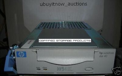NEW HP SURESTORE DDS-4 DAT40 4mm 20GB/40GB HOTSWAP DRIVE C7497-60003 C7497A