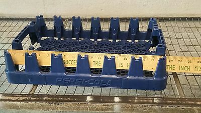 Plastic Pepsi Coca  Crate Case Tray  Carrier Blue