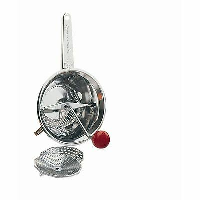 Moulin 8 In Stainless Steel Masher Ricer Grater Food Mill Kitchen Utensil