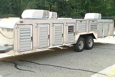 Canine / Dog  Transport Hauler 14 Compartment Trailer Tuffy Line