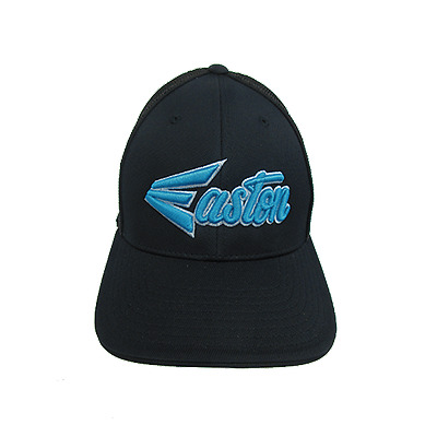 Easton Hat by Pacific 404M Black/Blue/Script Small/Medium Hat, new