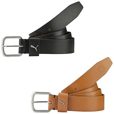 Puma Mens Golf Go To Ctl Belt - New Cut To Length Leather Classic Buckle 2017