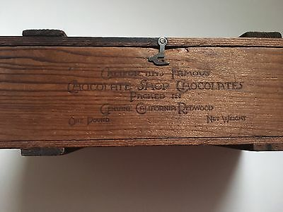 Antique Wooden Candy Box