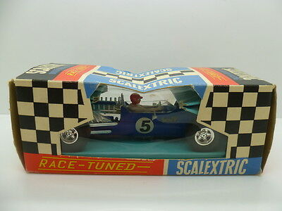 Scalextric C14 Matra GP, totally mint car, no5 and boxed
