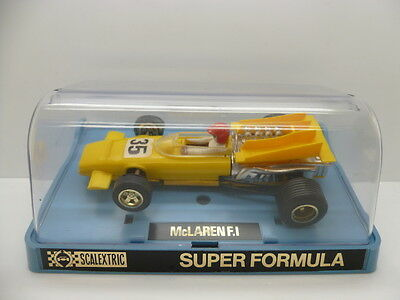 Scalextric C043 McLaren F1 C43, in yellow, super condition and boxed.
