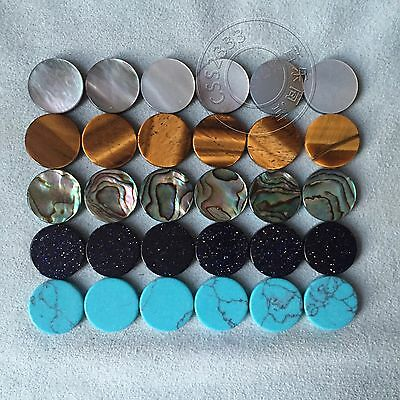 30 pcs trumpet finger key buttons for repairing parts new 5 colors stone,shell