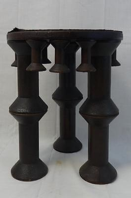 Vintage Small Round Spool Accent Table Very Stylish!