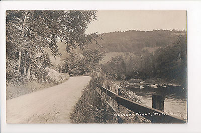 VT, Saxtons River - road from Saxtons River to Cambridgeport - RPPC - B05151