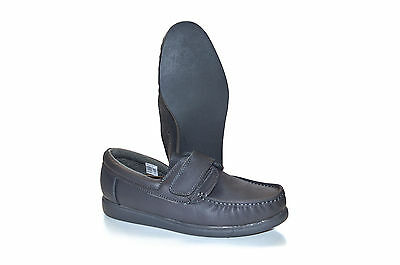 Men's DEK Leather Bowling Shoes - Velcro Fastened  - Touch fastening