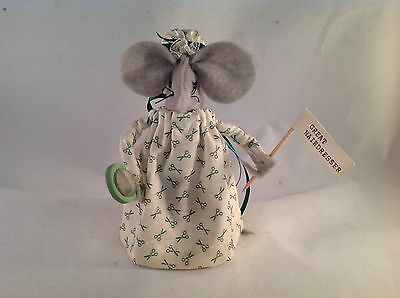 "Barbara ""Great Hairdressers"" Handmade Mouse 5"" Tall"